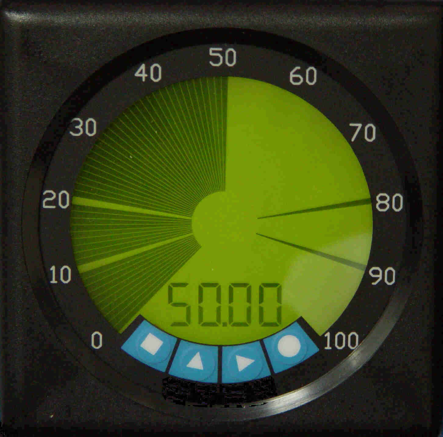 LCD replacement for DB40 analog meter