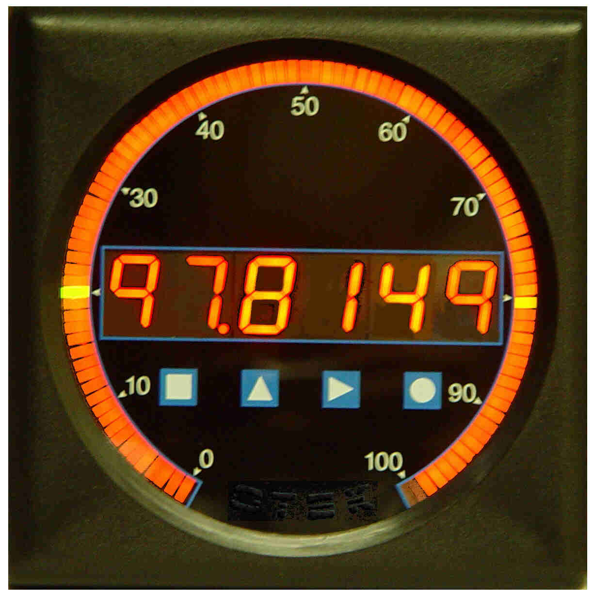 ANSI size Switchboard  Bargraph meter with 6 digit LED display